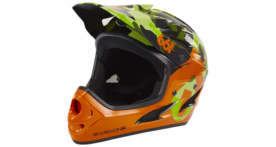 SixSixOne Comp Helmet camo